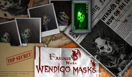 FarumirWorks' Wendigo masks!