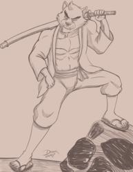 Kumatetsu - Warmup Sketch