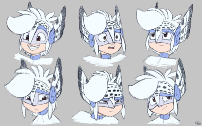 Snowy Expressions