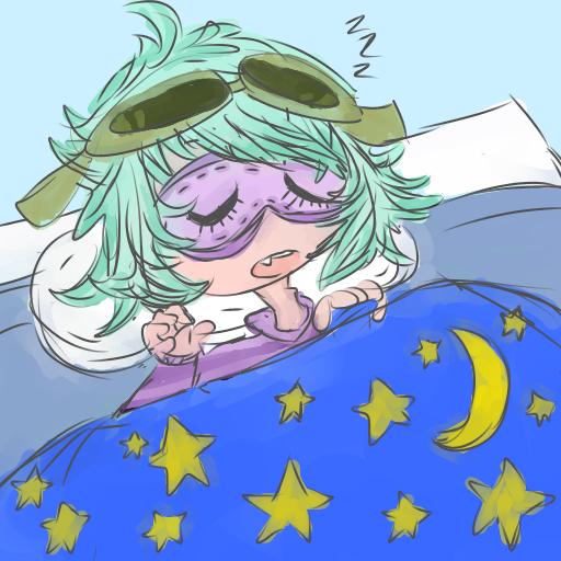 Sleepy Seaweed head !~