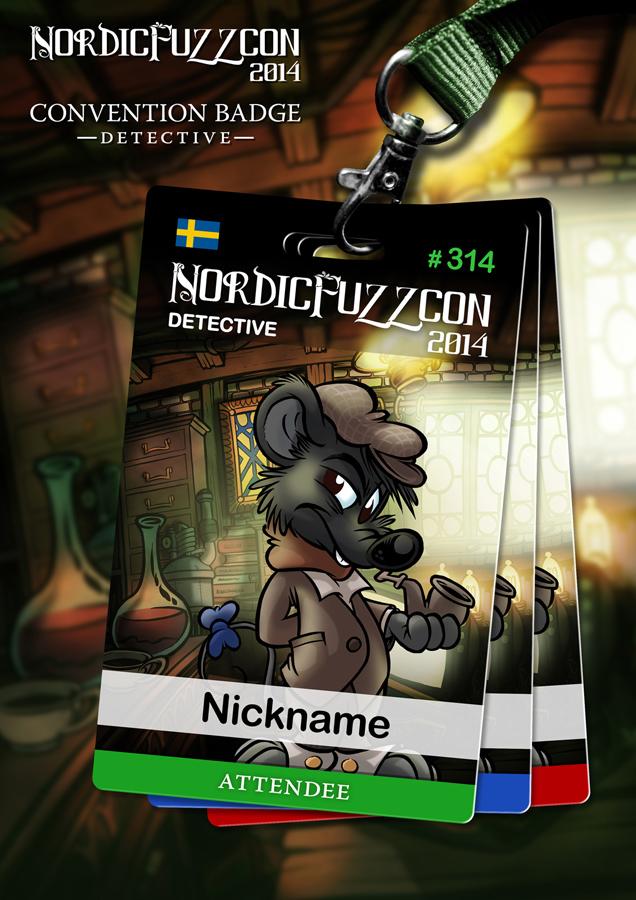 NFC 2014 Badges : Detective [3/4]