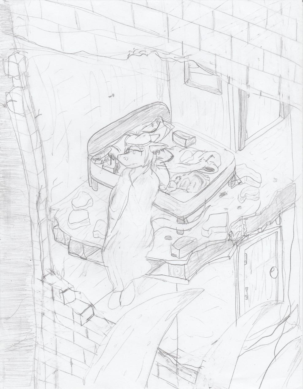 The Divine Wasteland - Destroyed apartment