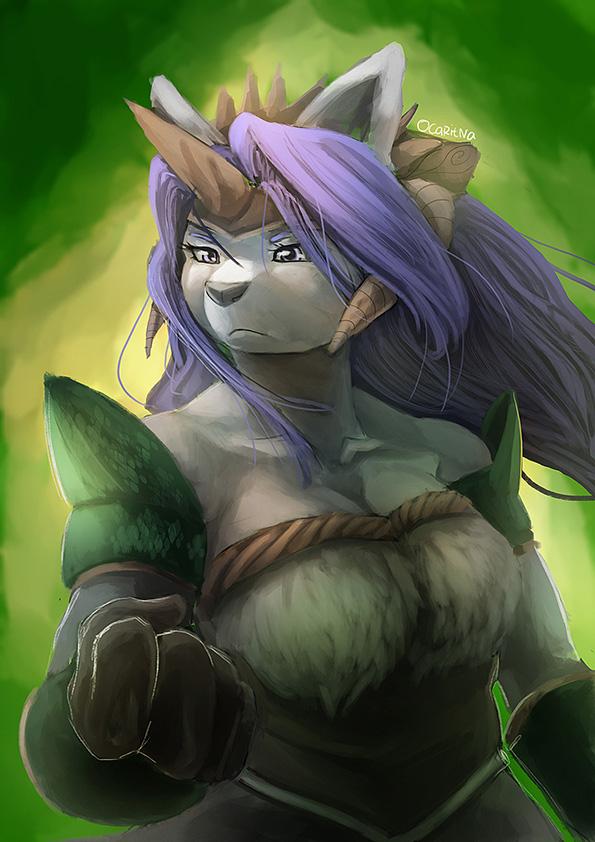 [Fanart] : Sierra from Legend of Mana