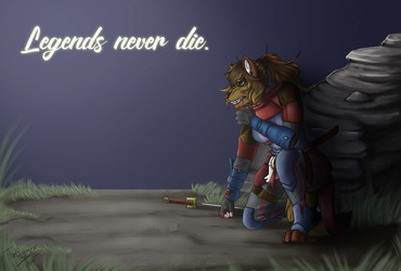 Legends never die. They become a part of you
