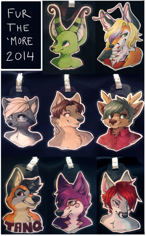 Fur The More 2014 Badges