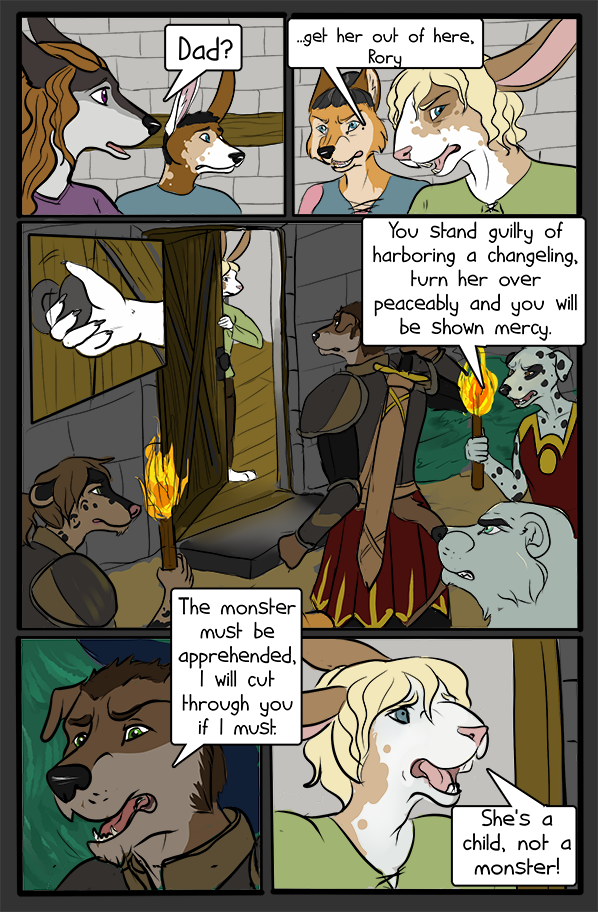 Most recent image: CHANGELING -  Chapter 1 Page 6