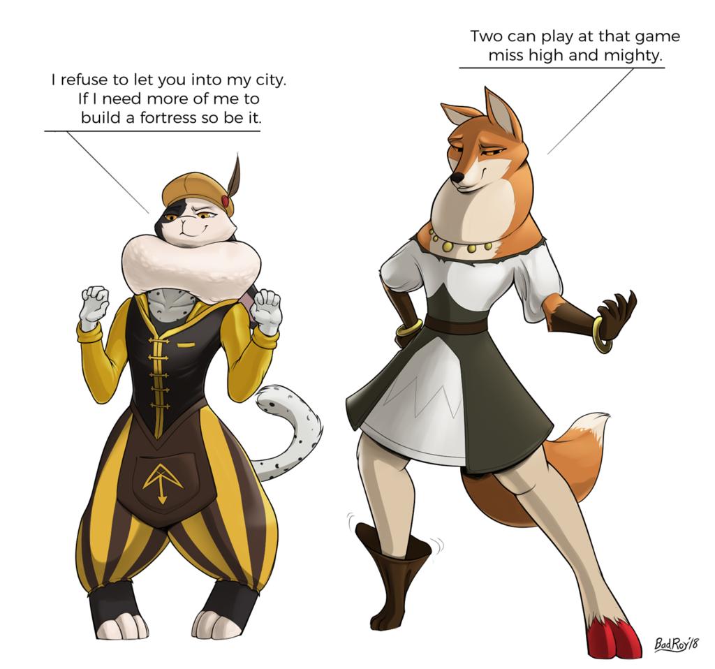 [C] Costumed Conflict