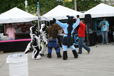 Furries Dancing with Dave! (MKE Pridefest 2010)