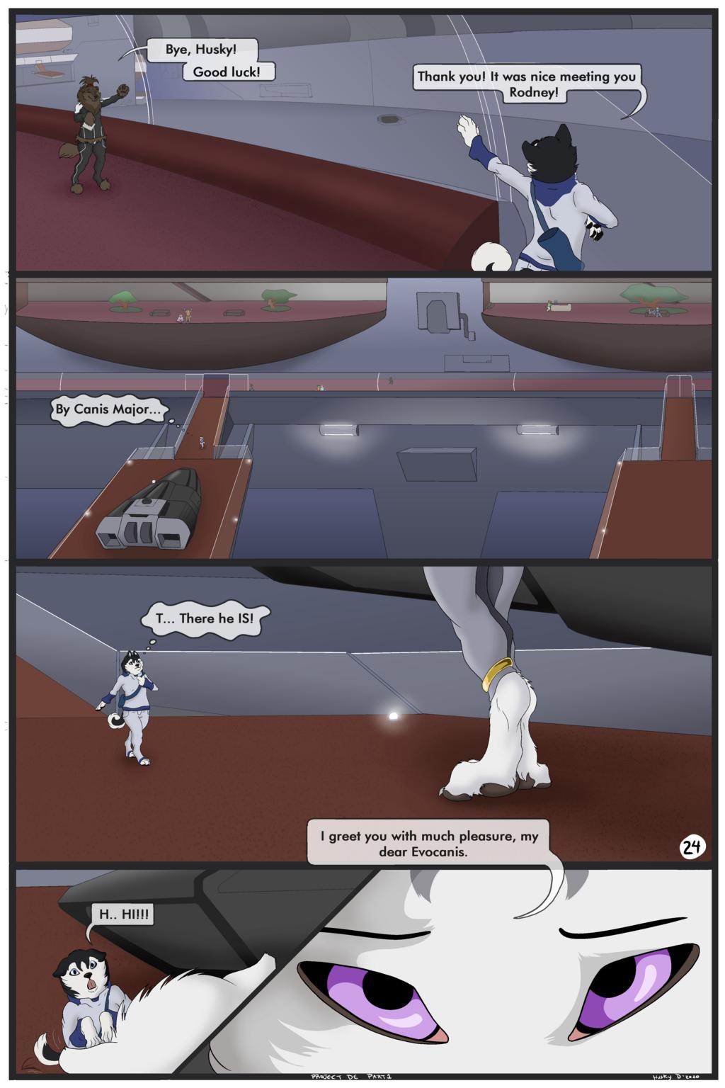Project D.E -Comic part 1- (Page 24)