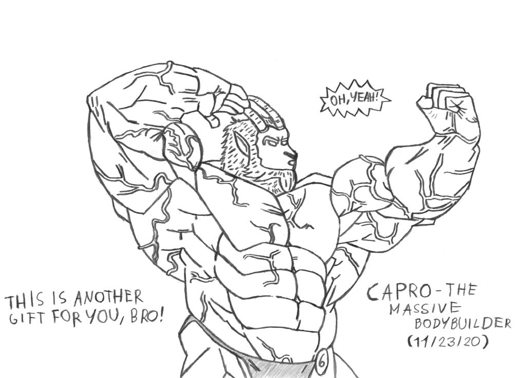 [BARA] Capro - The Massive Bodybuilder
