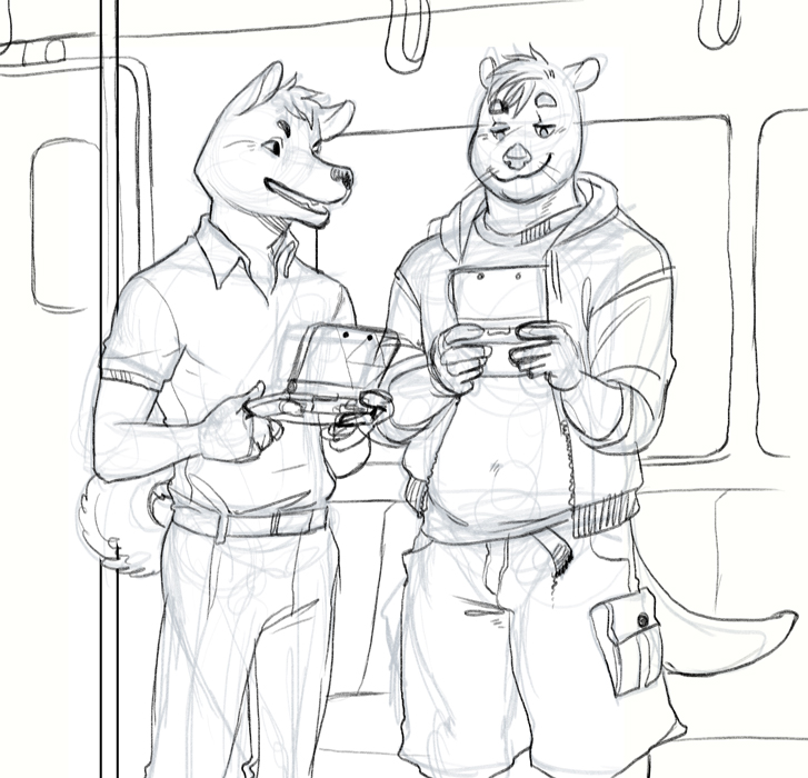sketch stuff - smash subway