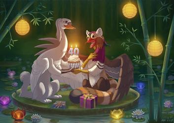 Happy Birthday Sayh! - Commission