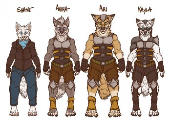 2020 A.D Character Line-up