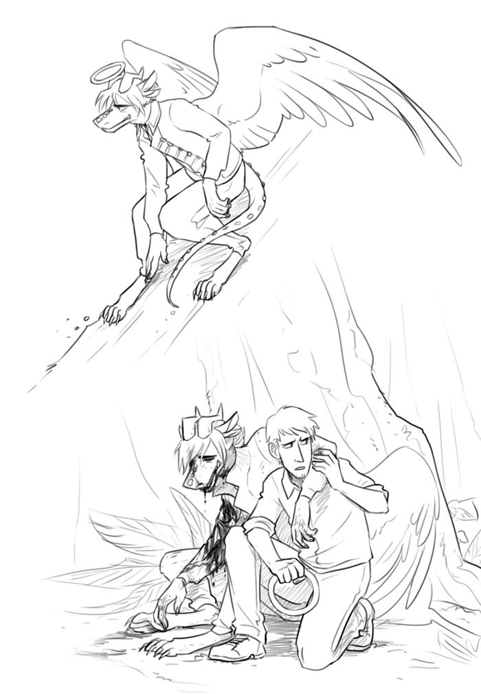 Balthazar doodles