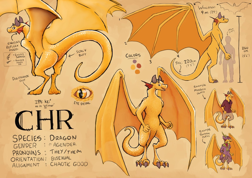 Most recent image: chr - ref sheet