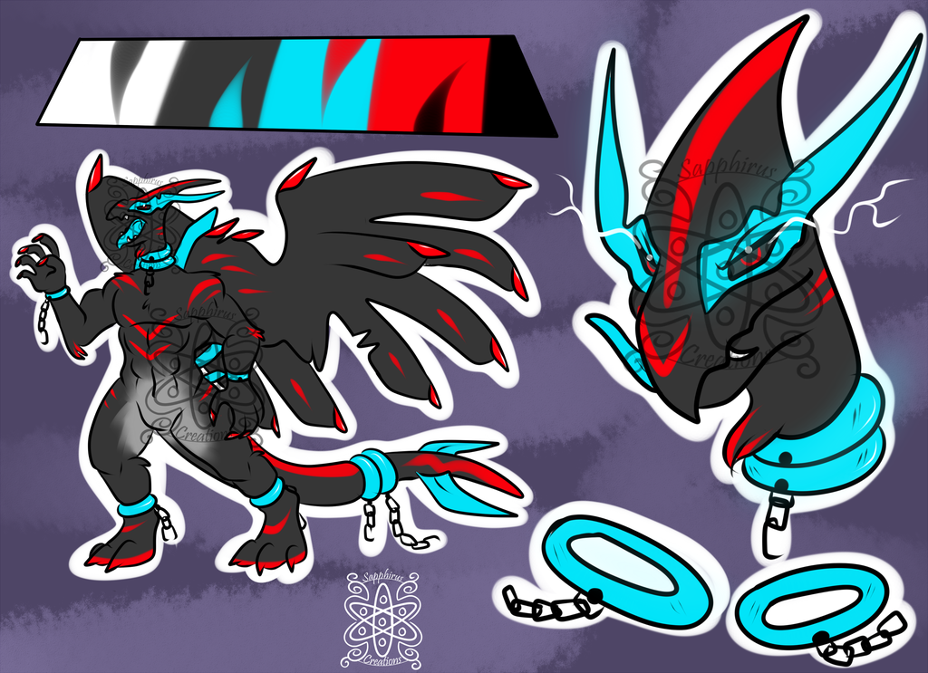 BLoodlust Male Shadow Lugia +Design+ (SOLD)