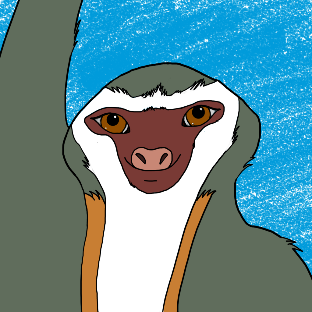 Most recent image: Tica the Sloth Badge