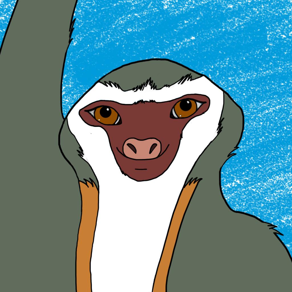 Tica the Sloth Badge