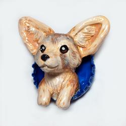 Fennec Fox Pop-Out Magnet