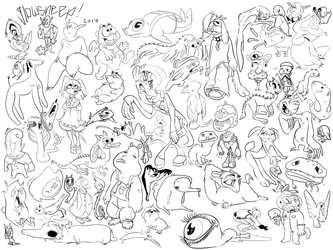 many characters
