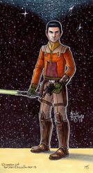 Ezra Bridger ( Rebels Season 3 Haircut )