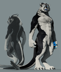 Anthro Trae 3D Model (2017 ed.)