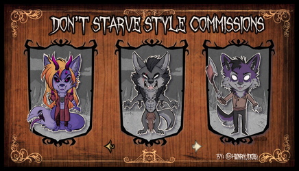 Dont Starve Style Commissions 5th  Batch