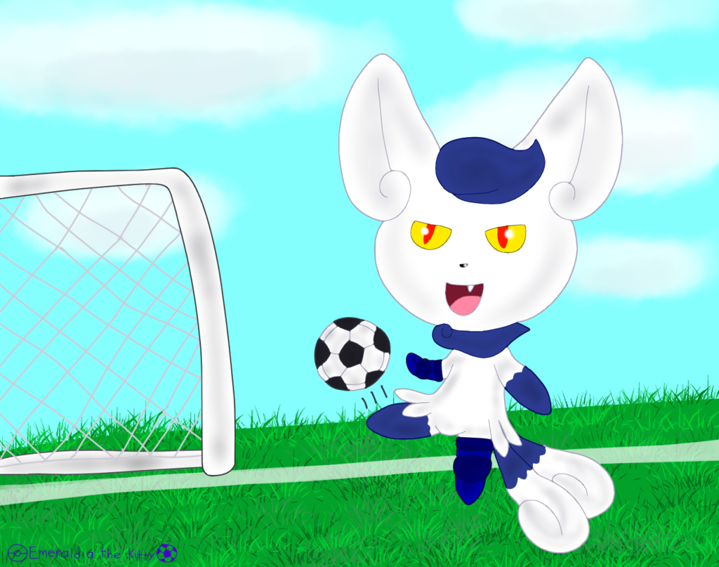 Most recent image: Leni doing a Soccer