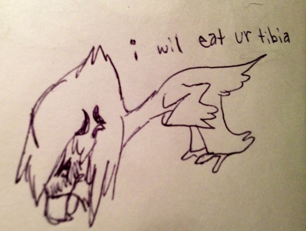 i will eat ur tibia