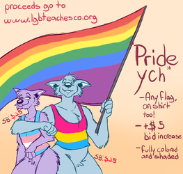 OPEN- PRIDE YCH