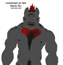 Livestreaming at 7pm