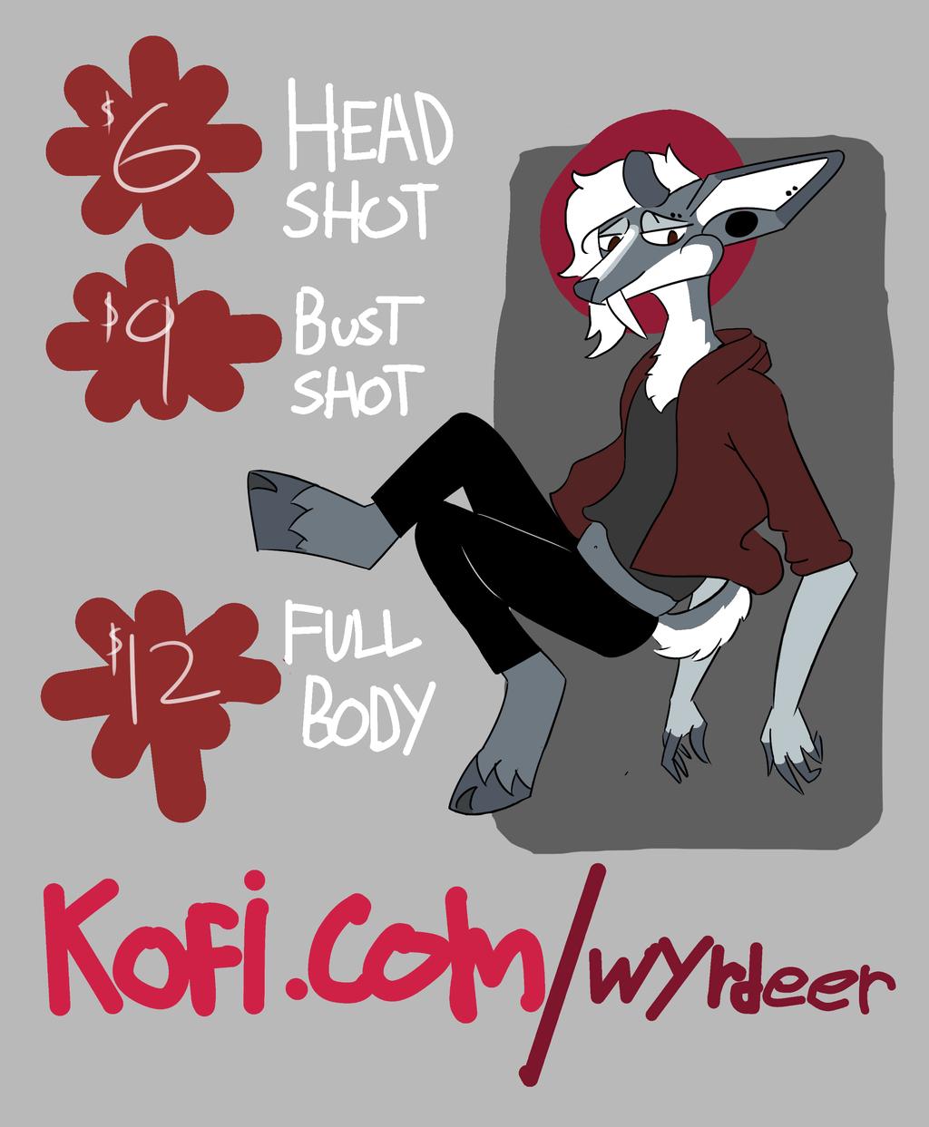 KOFI COMMISSIONS