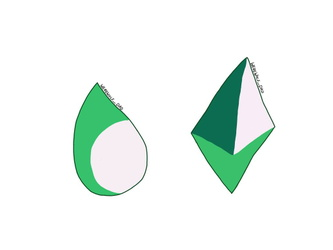 Malachite's gemstones