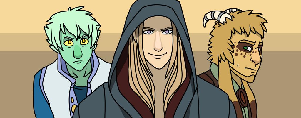 Dally, Emlen, and Reggie