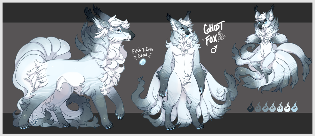Ghost Fox (Monstuni Design) (COM)