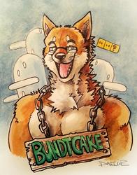 VancouFur 2013 Badge - BundtCake