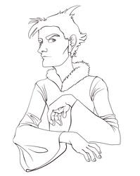Sketchy dude