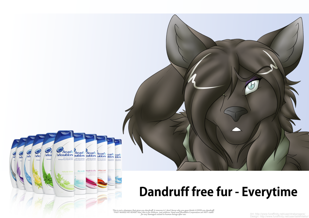 For the most luxurious dandruff free fur...
