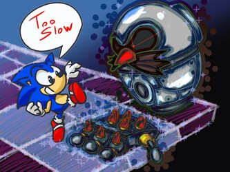 Sonic 3D FIGHT