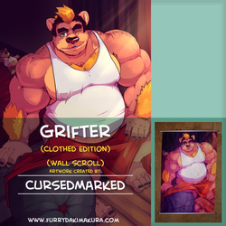 Grifter Wallscroll by Cursedmarked