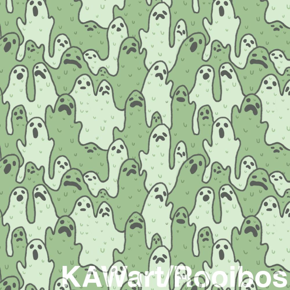 Gooey Ghost Pattern