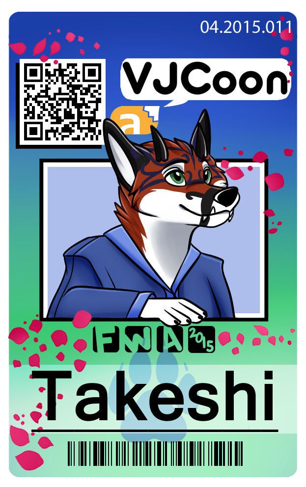 Takeshi Badge by RainArtsInk