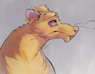 anxiety rat
