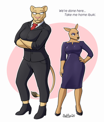 Rule 63: Louis and Ibuki