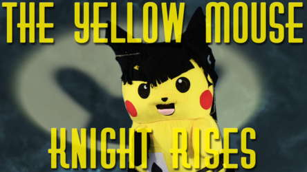 """Mascot Pikachu Fursuiting: """"The Yellow Electric Mouse-Knight Rises"""""""