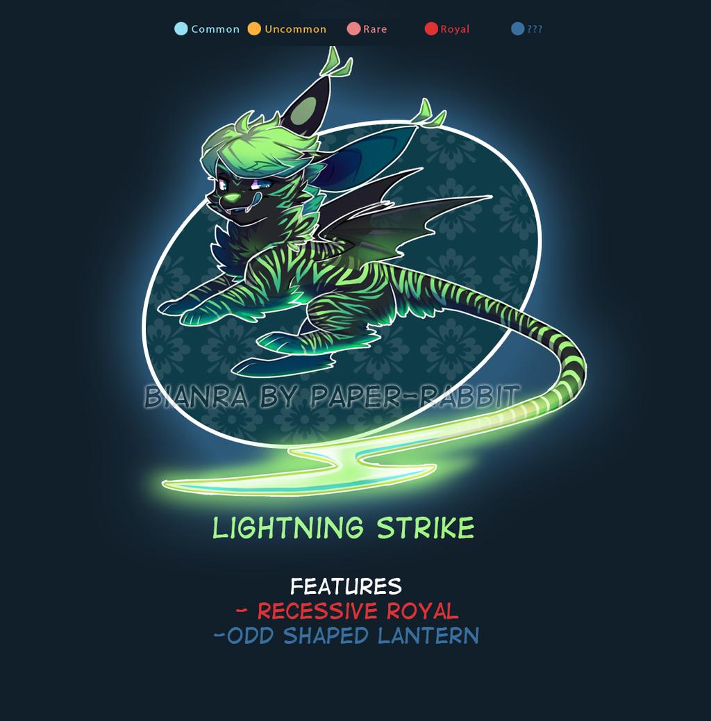 (Bianra) Lightning Strike - Auction - CLOSED