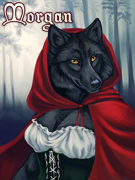 Featured image: Little Red Riding Morgan
