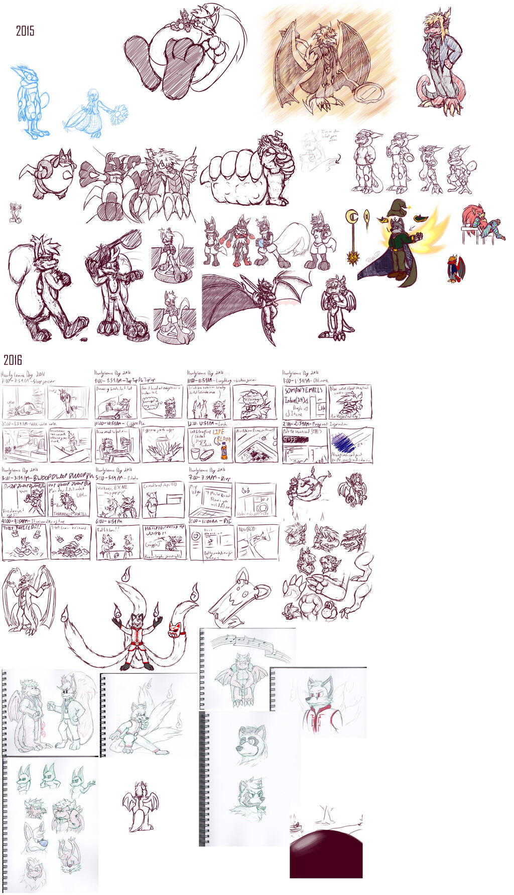 2015 and 2016 Doodle Wrapup