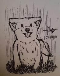 """Inktober 2016 - Day 16 """"Wet"""""""