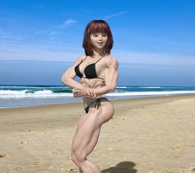 Candi on Beach 3